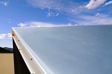 1-Piece Seamless Aluminum Roof
